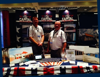 Capital Steel Buildings at Las Vegas ISS show