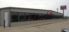 Retail Steel Building