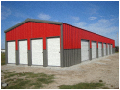 Wainscot bldg for self storage